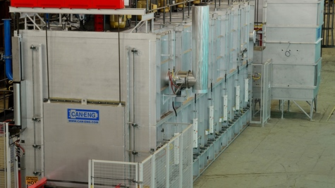 CAN-ENG Furnaces International Limited Successfully Installs and Commissions a T7 Automated Furnace Line