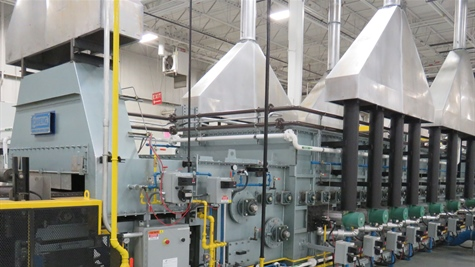 CAN-ENG Furnaces International Limited Installs and Commissions a Turn-Key 6000lb/hr Continuous Mesh Belt Atmosphere Heat Treat System for Metex Heat Treating Ltd.