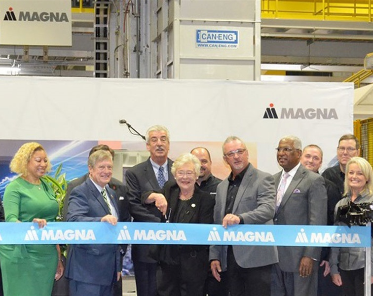 Can-Eng Backdrops Kamtek's Grand Opening in Alabama