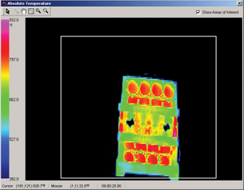 CFD Modeling and Time Elaspsed IR Scanning